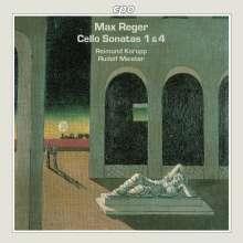 Max Reger (1873-1916): Sonaten für Cello & Klavier Nr.1 & 4, CD