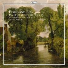 Ferdinand Ries (1784-1838): Klavierquartette op.13 & op.17, CD