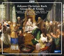 Johann Christian Bach (1735-1782): Gioas Re di Giuda (Oratorium), 2 CDs