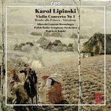 Karol Lipinski (1790-1861): Violinkonzert Nr.1, CD