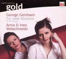 George Gershwin (1898-1937): Arrangements f.2 Klaviere, CD