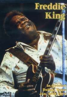 Freddie King: In Concert: Dallas Texas..., DVD