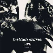The Black Crowes: Live - Volume 1 (180g) (Limited-Edition) (Black/White Vinyl), 2 LPs