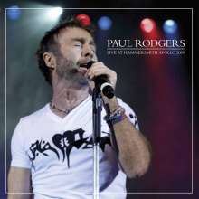 Paul Rodgers: Live At Hammersmith Apollo 2009 (Limited-Edition) (White Vinyl), 2 LPs