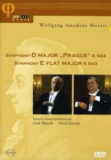 Wolfgang Amadeus Mozart (1756-1791): Symphonien Nr.38 & 39, DVD