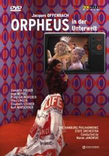 Jacques Offenbach (1819-1880): Orpheus in der Unterwelt (in dt.Spr.), DVD