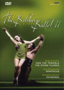 The Bolshoi Ballett Vol.2, 4 DVDs