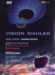 Gustav Mahler (1860-1911): Symphonie Nr.2 (Vision Mahler), DVD