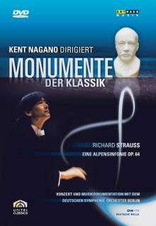 Kent Nagano dirigiert Monumente der Klassik, DVD