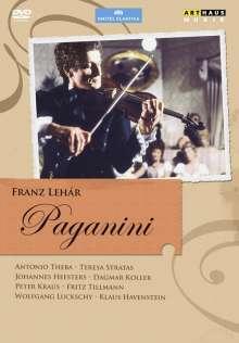 Franz Lehar (1870-1948): Paganini (Operettenfilm), DVD