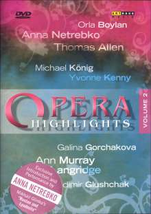 Opera Higlights Vol.2, DVD