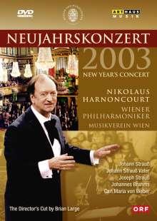 Das Neujahrskonzert Wien 2003, DVD