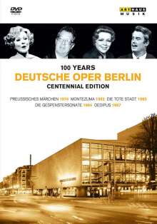 Deutsche Oper Berlin - 100 Jahre (Centennial Edition), 5 DVDs