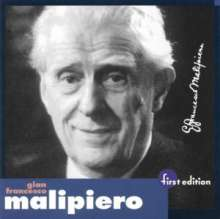 Gian Francesco Malipiero (1882-1974): Klavierkonzert Nr.3, CD