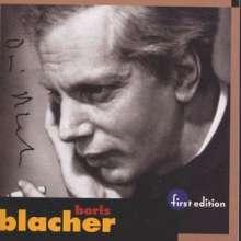Boris Blacher (1903-1975): Orchester Fantasie, CD