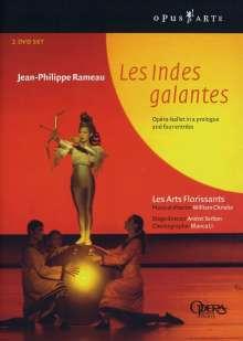 Jean Philippe Rameau (1683-1764): Les Indes Galantes, 2 DVDs
