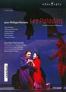 Jean Philippe Rameau (1683-1764): Les Paladins, 2 DVDs