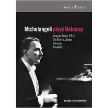 Michelangeli plays Debussy, DVD