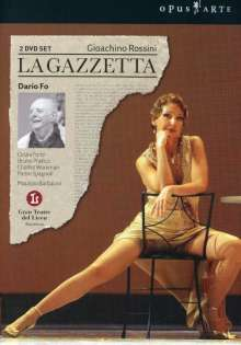Gioacchino Rossini (1792-1868): La Gazzetta, 2 DVDs