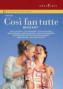 Wolfgang Amadeus Mozart (1756-1791): Cosi fan tutte, 2 DVDs