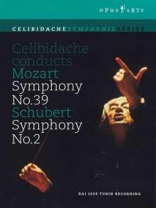 Sergiu Celibidache conducts Mozart & Berlioz, DVD