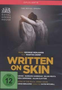 George Benjamin (geb. 1960): Written on Skin, DVD