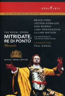 Wolfgang Amadeus Mozart (1756-1791): Mitridate Re di Ponto, DVD