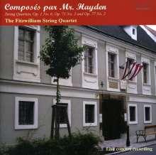 Joseph Haydn (1732-1809): Streichquartette Nr.6,70,82, CD