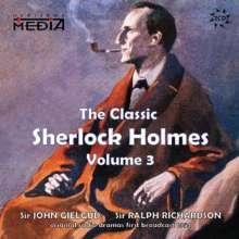 Classic Sherlock Holmes Vol.3, 2 CDs