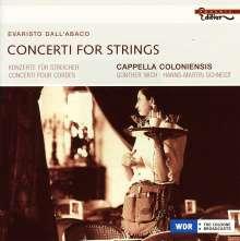Evaristo Felice dall' Abaco (1675-1742): Concerti für Streicher, CD