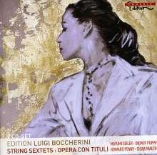 Luigi Boccherini (1743-1805): Streichsextette op.23 Nr.1,3,4,6, 2 CDs