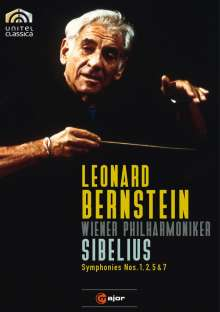 Jean Sibelius (1865-1957): Symphonien Nr.1,2,5,7, 2 DVDs