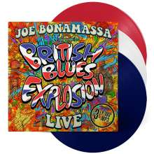 Joe Bonamassa: British Blues Explosion Live (180g) (Limited-Edition) (Red, White and Blue Vinyl), 3 LPs
