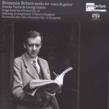 Benjamin Britten (1913-1976): Songs from the Chinese op.58, SACD