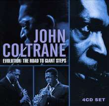 John Coltrane (1926-1967): Evolution: The Road To Giant Steps, 4 CDs