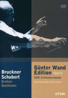 Günter Wand-Edition 2 - Schleswig Holstein Musik Festival, 4 DVDs