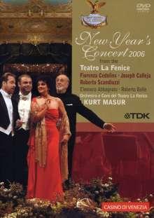 Neujahrskonzert 2006 (Teatro la Fenice) mit Kurt Masur, DVD