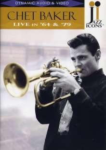 Chet Baker (1929-1988): Live in ´64 & ´79, DVD