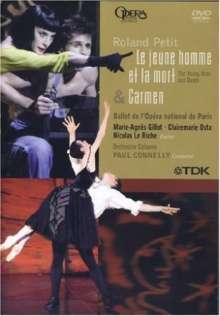 Roland Petit:Le Jeune Homme et la Mort & Carmen, DVD