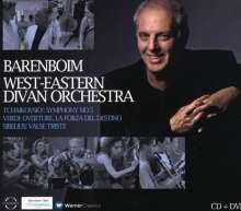Daniel Barenboim & das West-Eastern Divan Orchestra (CD+DVD), CD
