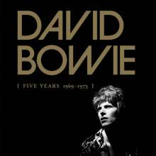 David Bowie: Five Years (1969 - 1973), 12 CDs