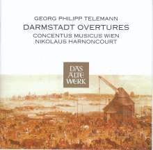 Georg Philipp Telemann (1681-1767): Darmstädter Ouvertüren, 2 CDs