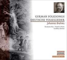 Johannes Brahms (1833-1897): 31 Deutsche Volkslieder, CD