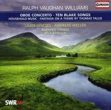 Ralph Vaughan Williams (1872-1958): Oboenkonzert, CD