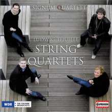 Ludwig Thuille (1861-1907): Streichquartette Nr.1 & 2, CD