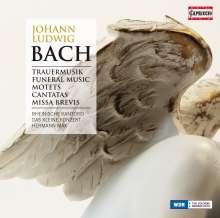 Johann Ludwig Bach (1677-1731): Trauermusik (für Soli,Doppelchor,2 Orchester), 3 CDs