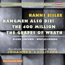 Hanns Eisler (1898-1962): Hangmen Also Die! (Filmmusik), CD
