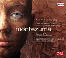 Carl Heinrich Graun (1703-1759): Montezuma, 2 CDs