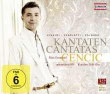 Max Emanuel Cencic - Kantaten, 3 CDs