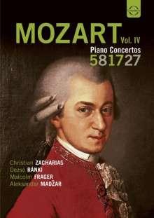 Wolfgang Amadeus Mozart (1756-1791): Die großen Klavierkonzerte Vol.4, DVD